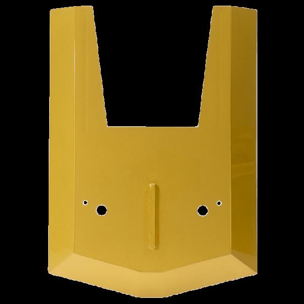 Abdeckplatte Front aus Kunststoff fuer Mahlkoenig K32 Gold lackiert 0