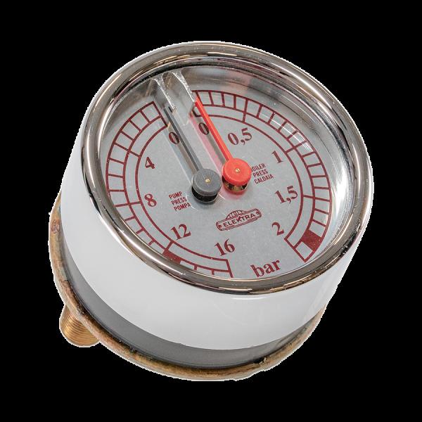 Manometer fuer Elektra Verve Elektra Verve Manometer Doppelmanometer