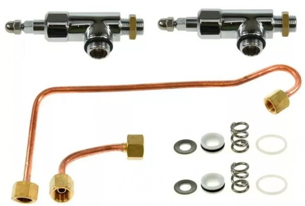 Dampf Heisswasserventil Set fuer ECM III Serie 0