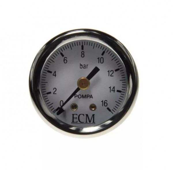 Manometer Pumpe mit ECM Logo 16 Bar 0