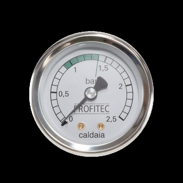 Manometer Kessel 0 25 bar fuer Profitec ab 2018 Profitec Manometer Kessel 25 Bar schwarz 1